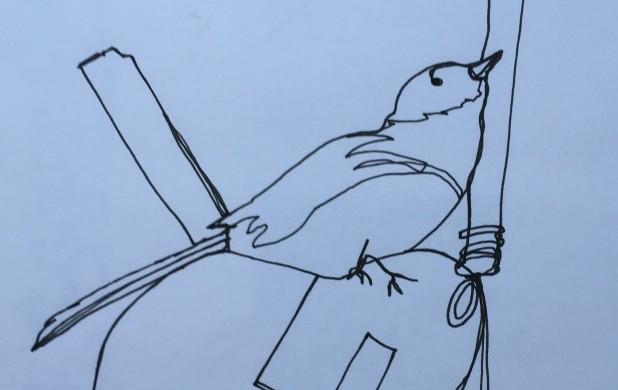 Tegneøvelse 1: Tegn et julemotiv med én streg